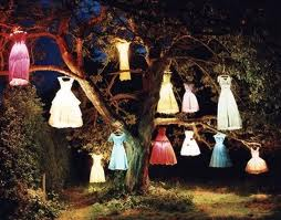 tim Walker, The Dress Lamp Tree, 2002