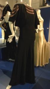 Norman Hartnell, Black crepe dress with bolero. 1938