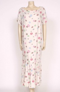 1920's cream cotton day dress from Prim Vintage Fashion, £165