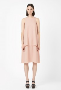 Peach 20's style dress from Cos, £79