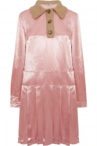 Satin & wool 1920's style dress from Miu-Miu, £1470