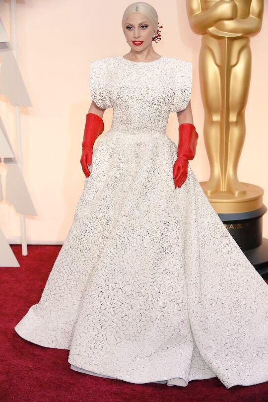 Lady GaGa-Custom Azzedine Alaia